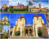 Která z pražských sakrálních památek na obrázku č.11 je označena písmenem C? (náhled)