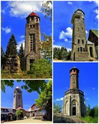 Ve kterém pohoří jsou rozhledny: Bramberk, Černá Studnice, Královka a Štěpánka na obrázku č.15?  (náhled)