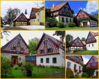 Která z obcí/míst - památek lidové architektury je na obrázku č.5? (náhled)