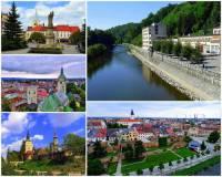 Která řeka protéká městy na fotografii č.6? (náhled)