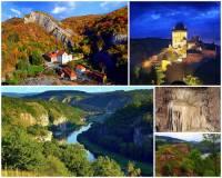 Územím bohatým nejen na přírodní krásy, ale i na kulturní památky je chráněná krajinná oblast na fotografii č.9. Jak se jmenuje? (náhled)