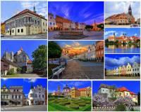 Ve kterém kraji se nacházejí města, hrady a zámek na fotografii č.10?  (náhled)