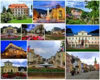Jaký kraj charakterizují zámky a města na obrázkové koláži č.19?  (náhled)