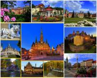 Který kraj charakterizují města a zámky na fotografii č.3?  (náhled)