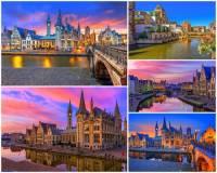 Jak se jmenuje krásné historické město na fotografii č.4, které má nejvíce chráněných památek v zemi? (náhled)