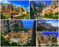 Monumentální horský masiv na obrázku č.7, který ukrývá stejnojmenné poutní místo s klášterem se jmenuje: (náhled)