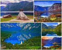 K nejkrásnějším místům Evropy patří i jezero s překrásnými přírodními scenériemi na obrázku č.11. Jak se jedno z nejkrásnějších evropských jezer jmenuje? (náhled)