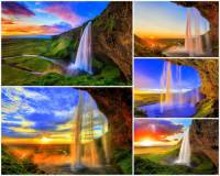 Jak se jmenuje vodopád na obrázku č.13, který patří k nejkrásnějším vodopádům v zemi? (náhled)