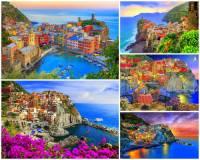 Jak se jmenuje skalnatá pobřežní oblast italské riviéry na fotografii č.5, která leží v provincii La Spezia a patří k nejmalebnějším místům nejen Itálie, ale i Evropy? (náhled)