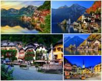 Jak se jmenuje město - letovisko na fotografii č.6, které je obklopeno krásnými přírodními scenériemi a patří k nejkrásnějším místům Evropy? (náhled)