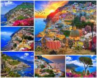 Na fotografii č.8 je Amalfinské pobřeží v Itálii, které je považováno za jedno z nejkrásnějších míst Evropy. Ve které italské provincii se Amalfinské pobřeží rozkládá? (náhled)