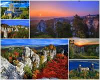 Jak se jmenuje nejkrásnější a turisticky jedno z nejatraktivnějších území v ČR na fotografii č.1, ve kterém je mnoho přírodních a historických památek? Pro své unikátní přírodní i kulturní bohatství je i nejstarší chráněnou krajinnou oblastí v ČR. (náhled)