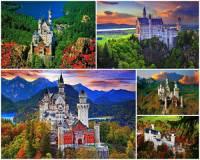 Pohádkový zámek na fotografii č.5, který patří k nejkrásnějším zámkům v Evropě se jmenuje: (náhled)