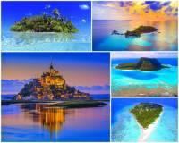 """Ostrov je pevnina, která je ze všech stran obklopena vodní plochou. Podmínkou pro označení """"ostrov"""" je aby se na území ostrova vyskytoval vlastní zdroj pitné vody. Jak se jmenuje největší ostrov na světě? (náhled)"""