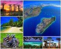 Ve kterém oceánu/moři se rozkládá ostrov Madagaskar? (náhled)