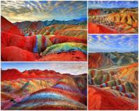 Jak se jmenuje přírodní unikát na fotografii č.1? Ve které zemi se přírodní unikát na fotografii č.1 nachází? (náhled)