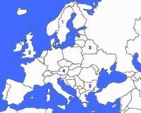Který evropský stát je označen č.3? (náhled)