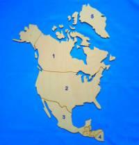 Který severoamerický stát je označen č.1? (náhled)