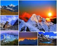 Ve kterém světadílu se vypíná pohoří Andy na obrázku č.10? (náhled)