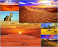 Označte státy, na jejichž území se rozkládá poušť Sahara na fotografii č.12: (náhled)