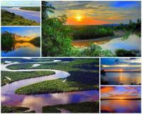 Označ státy, kterými protéká řeka Amazonka na fotografii č.18: (náhled)