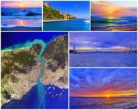 Jak se jmenuje průliv mezi Černým a Marmarským mořem na fotografii č.2, který tvoří část hranice mezi Evropou a Asií? (náhled)