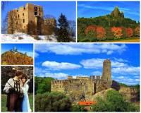 Vyberte a označte zříceniny hradů na fotografii č.6, které v pohádce představovaly Mrakomorúv hrad. Na jednom z nich proběhl souboj Mrakomora s princem. (náhled)