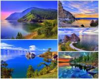 Která řeka vytéká z jezera Bajkal? (náhled)
