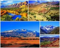 Na kterém kontinentu se vypíná pohoří Atlas?    (náhled)