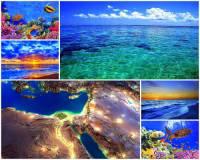 Čím je spojeno Středozemní moře s Rudým mořem?  (náhled)