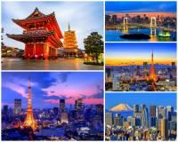 Japonsko je ostrovní stát skládající se z mnoha souostroví a samostatných ostrovů ležících v Tichém oceánu.  Na kterém ze 4 největších ostrovů se rozkládá hlavní město Japonska – Tokio? (náhled)