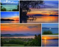 Ve kterém státě mohou turisté navštívit jezero Balaton?  (náhled)