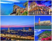 Na kterém z poloostrovů se rozkládá Itálie?    (náhled)