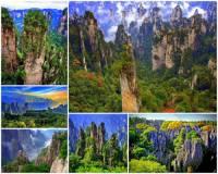 Jak se jmenuje unikátní horská oblast s nevšedními přírodními skalními útvary na obrázku č.13, která je pro svou jedinečnost považována za jedno z nejkrásnějších míst světa? (náhled)