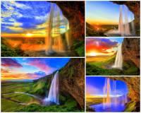 Jak se jmenuje vodopád na obrázku č.14, který patří k nejkrásnějším vodopádům v zemi? (náhled)