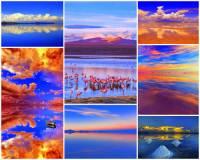 Ve kterém státě se rozprostírá největší solná pláň světa Salar de Uyuni na fotografii č.16, která je označována za jednu z nejkrásnějších na světě? (náhled)