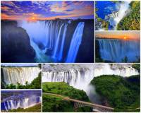 Jaké vodopády patřící k nejkrásnějším na světě vidíte na fotografii č.2? (náhled)