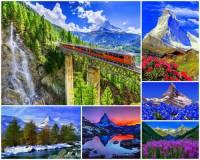 Oblast, ve které se vypíná hora na fotografii č.7 patří mezi nejkrásnější místa světa. Jak se hora jmenuje? (náhled)