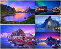 Jak se jmenuje turisticky atraktivní vesnice na fotografii č.11, která leží v zátoce obklopené překrásnými přírodními scenériemi a je považována za nejkrásnější zátoku v zemi a řadí se i mezi nejkrásnější zátoky na světě? (náhled)