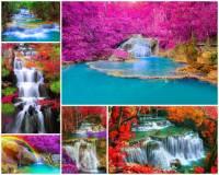 Jak se jmenuje národní park s kaskádovitými vodopády na fotografii č.12, který je nejkrásnější nejen v zemi, ale patří i mezi turisticky nejatraktivnější národní parky na světě? (náhled)