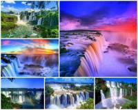 Jaké vodopády patřící k nejkrásnějším na světě vidíte na obrázku č.13? (náhled)