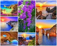 Jak se jmenuje jedna ze světově proslulých, turisticky atraktivních pobřežních oblastí s překrásnými přírodními scenériemi, příjemnými plážemi pod rozeklanými skalisky zalité sluncem na fotografii č.15? (náhled)
