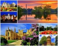 Místy, která patří mezi nejkrásnější na světě, se může pochlubit i Česká republika. Jedno z nich je na fotografii č.2. Jako jeden z pokladů světového kulturního a přírodního dědictví, je se svými historickými objekty, zahradní architekturou a rybníky považováno za nejrozsáhlejší člověkem uměle vytvořené území Evropy, které je od r.1996 zapsáno na seznamu světového kulturního a přírodního dědictví UNESCO. Jak se jedno z nejkrásnějších míst světa na fotografii č.2 jmenuje? (náhled)