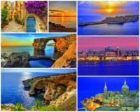Jak se jmenuje jeden z turisticky nejoblíbenějších a nejnavštěvovanějších ostrovů na fotografii č.4, který může nabídnout nejen krásy přírody, ale i mnoho historických památek, neboť byl v minulosti důležitým strategickým místem? (náhled)
