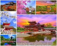 Jak se jmenuje historické město na fotografii č.16, poblíž kterého se nacházejí turisticky nejatraktivnější japonské zahrady, které na jaře hýří barvami rozkvetlých sakur a kvetoucích keřů a na podzim zbarveným listím? Oslnivá nádhera přírody se zde snoubí s krásou zahradních historických staveb. (náhled)