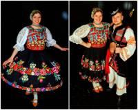 Ke kulturním tradicím SR patří i slovenský folklór (národopis) = dodržování lidových tradic, zvyků, písní, tanců a krojů. Z které národopisné oblasti SR jsou kroje na fotografii č.5? (náhled)
