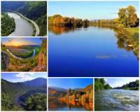 Nejdelší slovenská řeka Váh, která vzniká soutokem Čierneho a Bieleho Váhu JV od Liptovského Mikuláše a délka jejího toku až po ústí do řeky Dunaje měří 403 km protéká 4 slovenskými kraji. Označte všechny kraje, kterými řeka Váh protéká:   Fotografie č.13. (náhled)