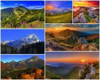 Ve kterých 2 slovenských krajích se nachází pohoří Malá Fatra? Fotografie č.16. (náhled)