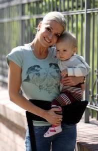Jak se jmenuje dcera Dary Rolins a Matěje Homoly? (náhled)