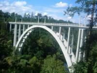 Bechynský most letos(2008) slavil (náhled)